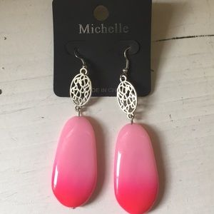 Ombré earrings💕